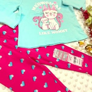 NWT girls outfit size 9-12 months